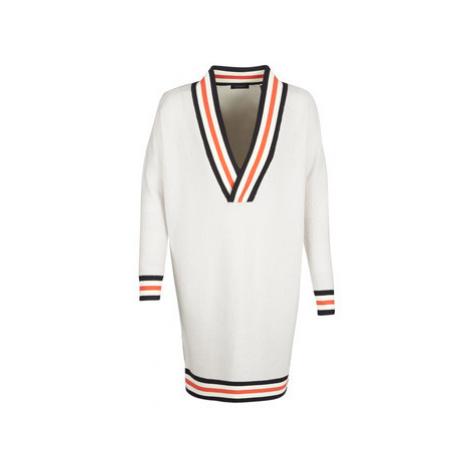 Maison Scotch WHITE LONG SLEEVES women's Sweater in White Scotch & Soda
