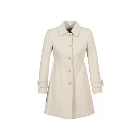 Benetton STITO women's Coat in Beige United Colors of Benetton