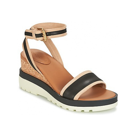 See by Chloé SB26094 women's Sandals in Black