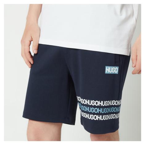 HUGO Men's Dakumi Jersey Shorts - Dark Blue Hugo Boss