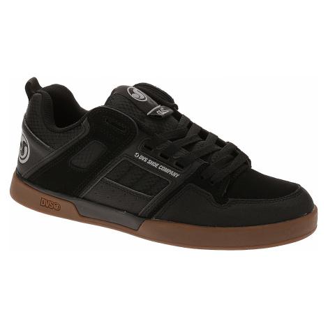 shoes DVS Comanche 2.0+ - Black/Gum/Nubuck - men´s