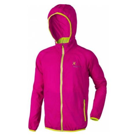 Klimatex GULI pink - Kids' packaway wind jacket