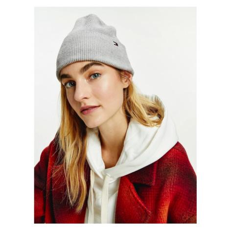 Tommy Hilfiger Essential Knit Beanie Grey