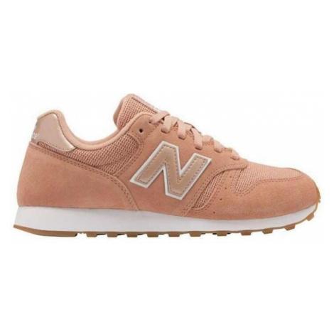 New Balance WL373PSW orange - Women's leisure footwear