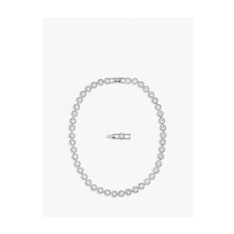 Swarovski Angelic Round Crystal Collar Necklace