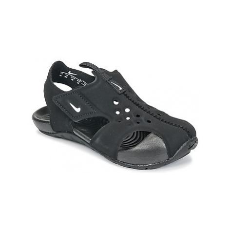 Nike SUNRAY PROTECT 2 TODDLER girls's Children's Sandals in Black