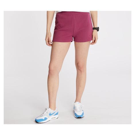 Pink women's training shorts