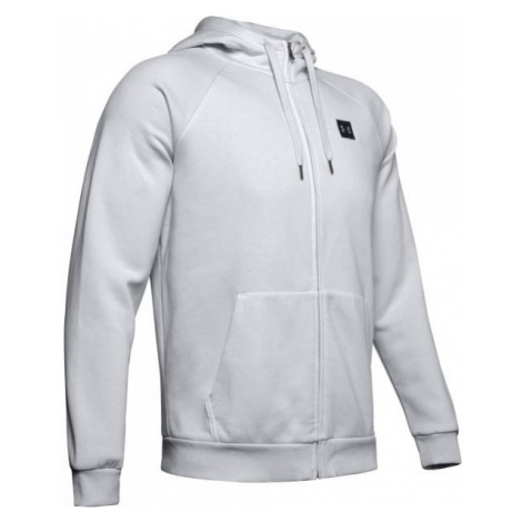 Under Armour RIVAL FLEECE FZ HOODIE grey - Men's hoodie