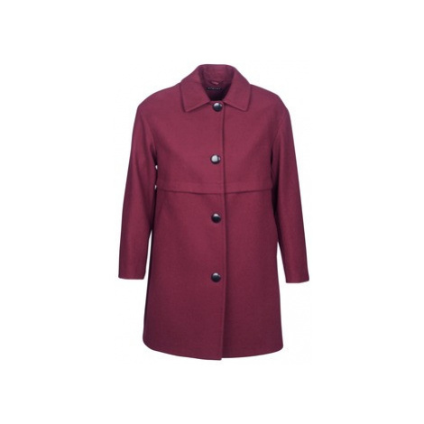 Sisley FAREDA women's Coat in Bordeaux