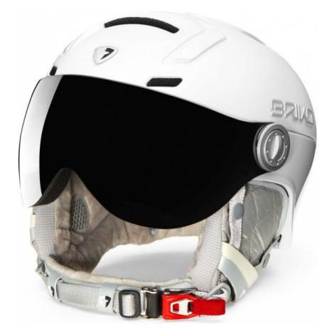 Briko AMBRA VISOR PHOTO white - Women's ski helmet
