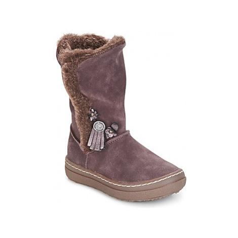 Pink girls' boots