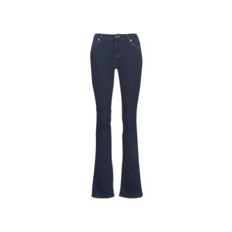 Armani Exchange HELBAJE women's Bootcut Jeans in Blue