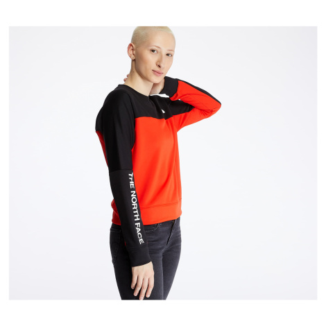 The North Face Crop Pullover Red/ Black