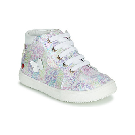 GBB MEFITA girls's Children's Shoes (High-top Trainers) in Pink