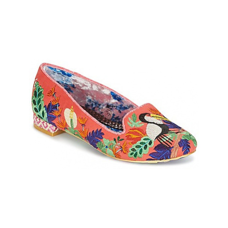 Irregular Choice YES YOU PELI CAN women's Shoes (Pumps / Ballerinas) in Orange