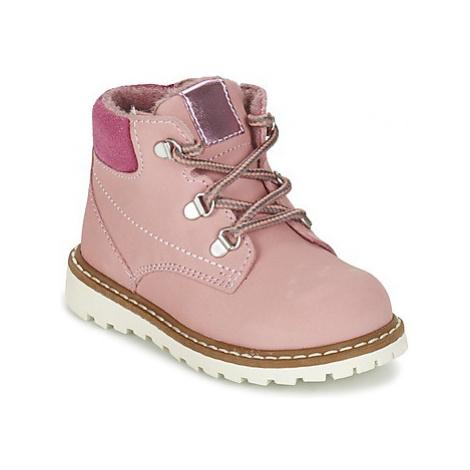 Citrouille et Compagnie FIDJA girls's Children's Mid Boots in Pink