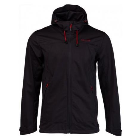 Willard LINKA black - Men's softshell jacket