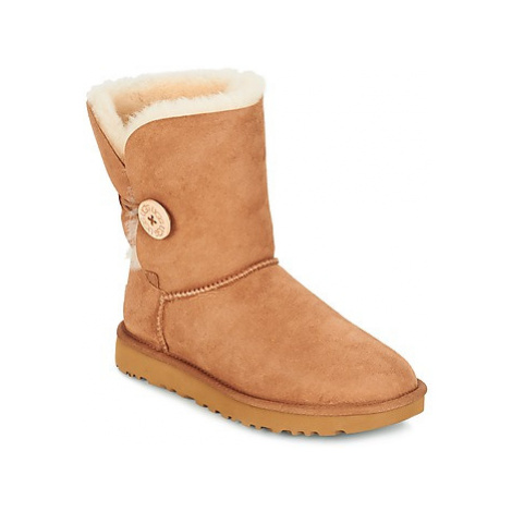 UGG BAILEY BUTTON II women's Mid Boots in Brown