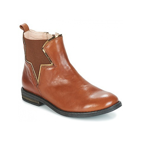 Acebo's IMAL girls's Children's Mid Boots in Brown