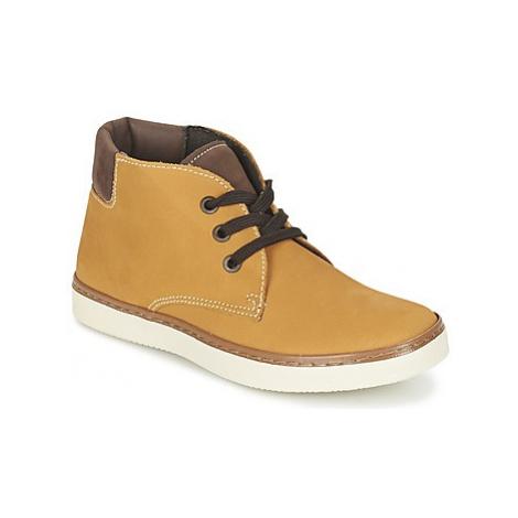 Citrouille et Compagnie FERMINO boys's Children's Mid Boots in Brown