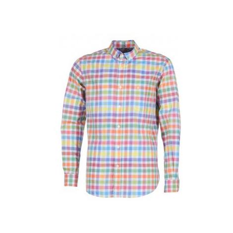 Serge Blanco CHL8340 men's Long sleeved Shirt in Multicolour