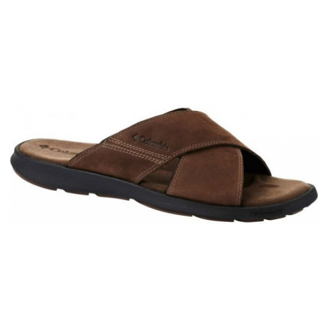 Columbia TARANTO brown - Men's slip-ons
