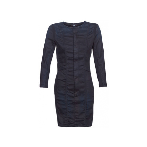 G-Star Raw MOTAC SLIM DRESS women's Dress in Blue