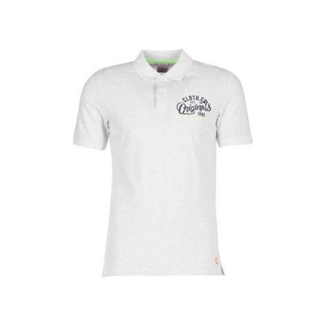 Jack Jones JORTRAST men's Polo shirt in White Jack & Jones