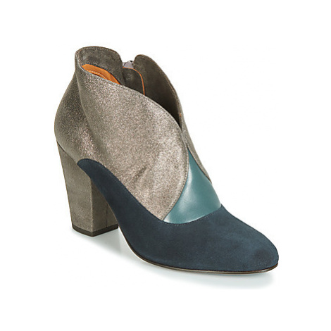 Chie Mihara ELGI women's Low Ankle Boots in Silver