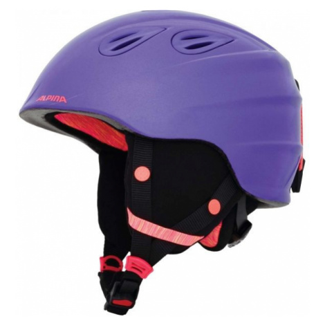 Alpina Sports GRAP 2.0 JR purple - Kids' ski helmet