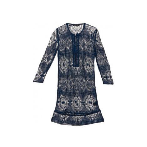 Antik Batik LEANE women's Dress in Blue