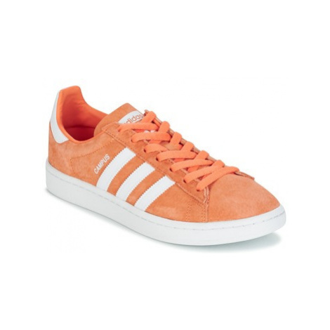 Adidas CAMPUS women's Shoes (Trainers) in Orange