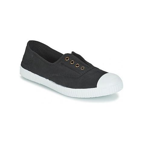 Victoria INGLESA ELASTICO TINTADA women's Shoes (Trainers) in Black