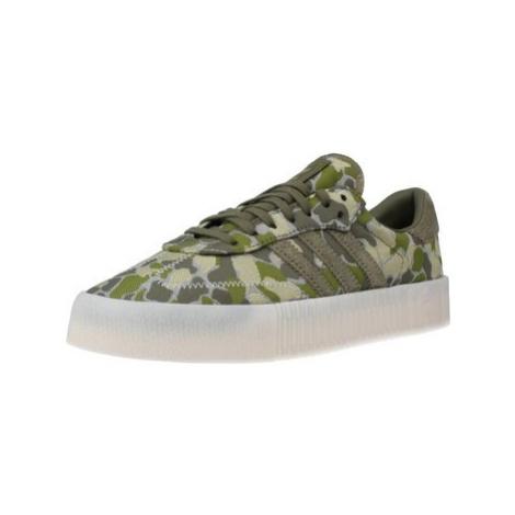 Adidas SAMBAROSE W women's Shoes (Trainers) in Green