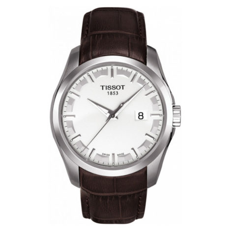 Mens Tissot Couturier Watch T0354101603100