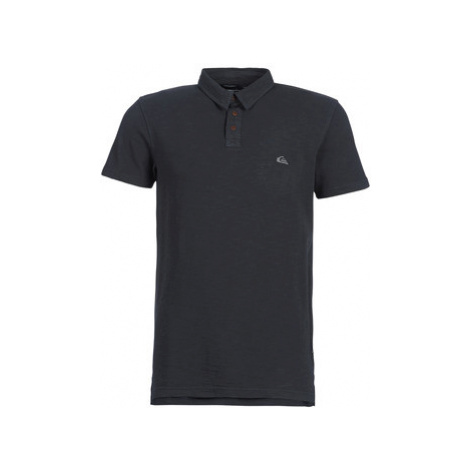 Quiksilver EVERYDAY SUN CRUISE men's Polo shirt in Black