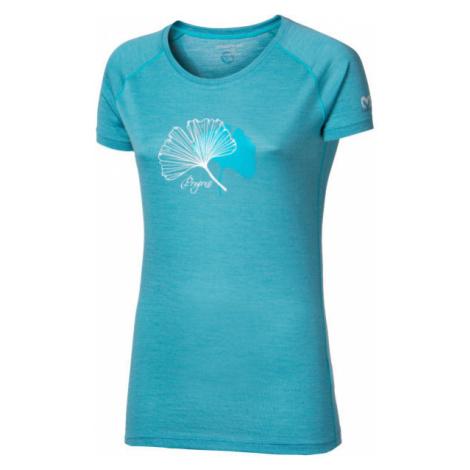 Progress TARANAKI light green - Women's Merino Wool T-shirt