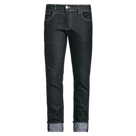 Banned - Rockabilly Slim - Pants - black