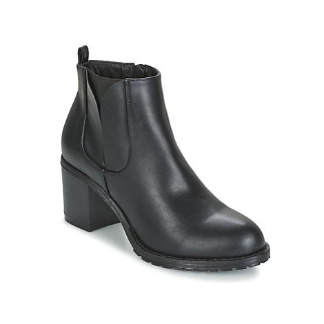 Moony Mood FOUVI women's Low Ankle Boots in Black