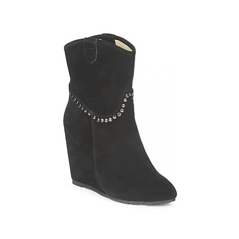 Best Mountain CALERI women's Low Ankle Boots in Black