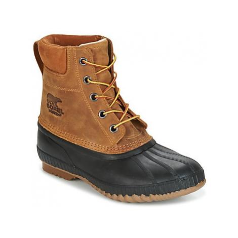 Sorel Cheyanne II men's Shoes (Trainers) in Brown