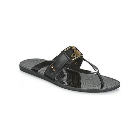 Vivienne Westwood SANDAL FRAME ORB men's Flip flops / Sandals (Shoes) in Black