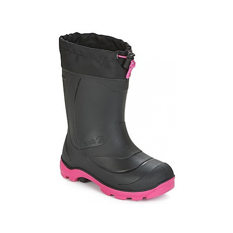 KAMIK SNOWBUSTER 1 girls's Children's Snow boots in Black