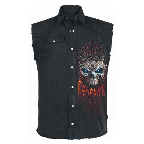 Spiral - Respawn - Sleeveless workershirt - black