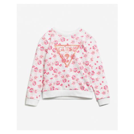 Guess Kids Sweatshirt Pink White