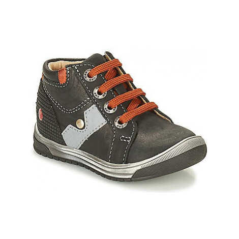 GBB RENOLD boys's Children's Shoes (High-top Trainers) in Black