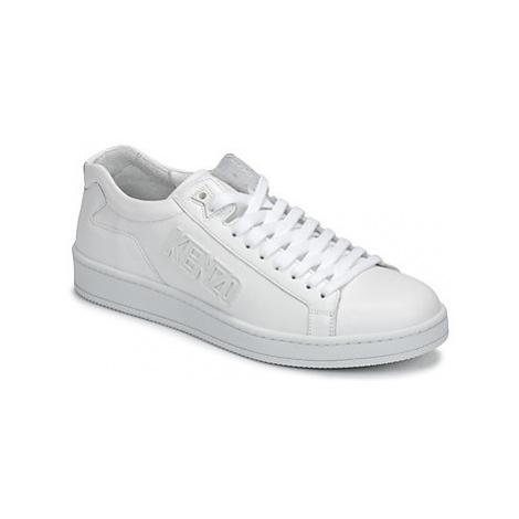 Kenzo TENNIX men's Shoes (Trainers) in White