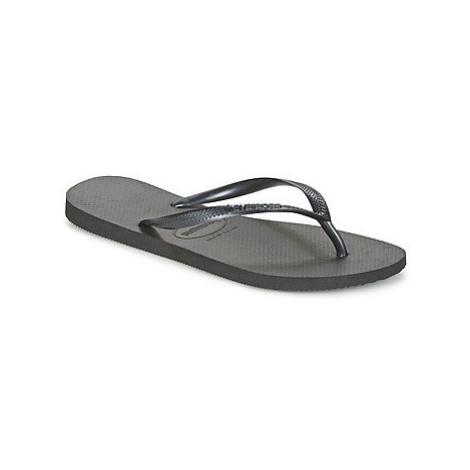 Havaianas SLIM women's Flip flops / Sandals (Shoes) in Black