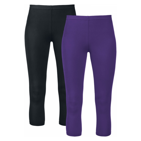 Gothicana by EMP - Made For Double Comfort - Leggings - black-lilac