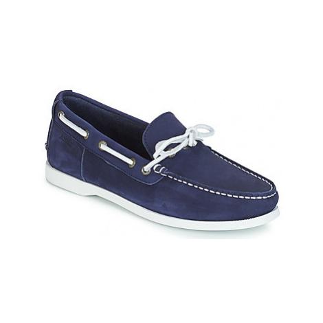 Aigle HAVBAY men's Boat Shoes in Blue